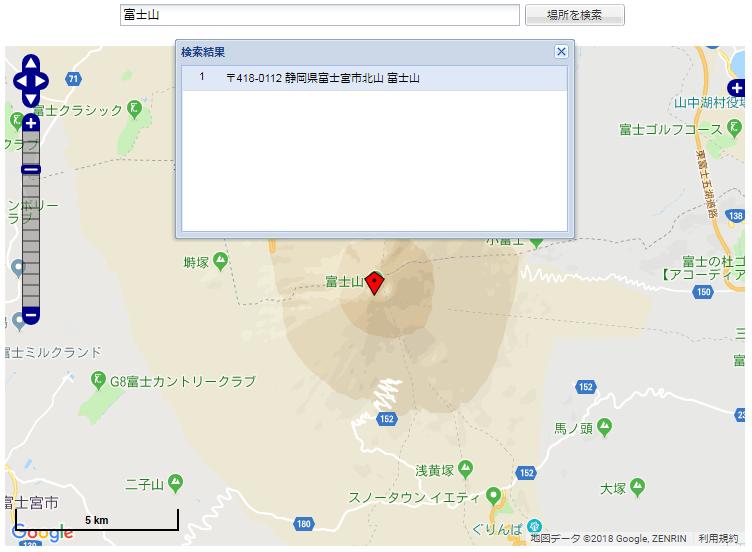 地震ハザードマップ 富士山