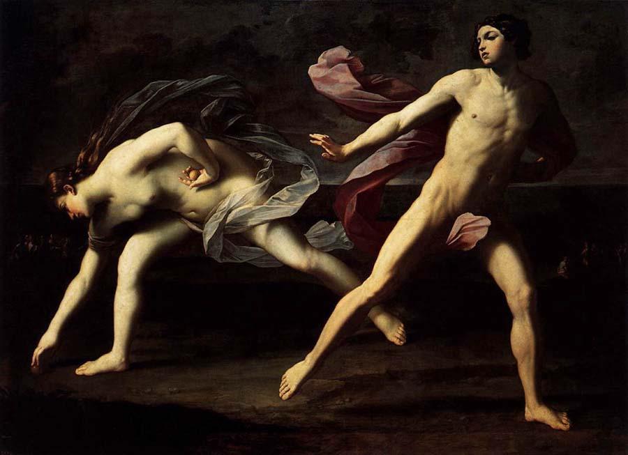 グイド・レーニ《アタランテとヒッポメネス》