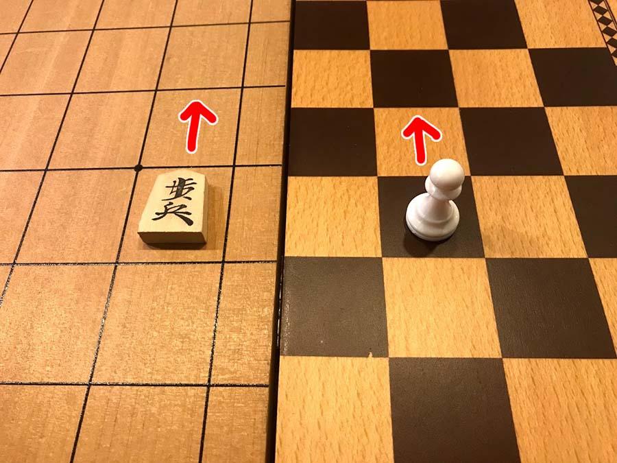 チェス ポーンの前進
