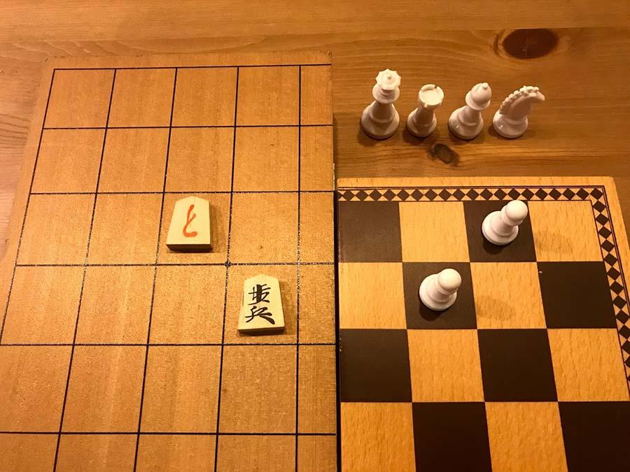 將棋とチェス、それぞれの「成り」