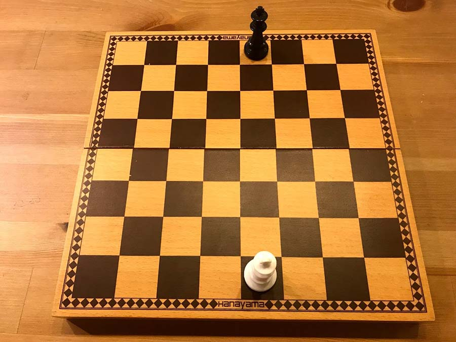チェスのキングの配置