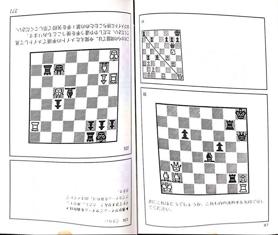 ボビー・フィッシャーのチェス入門 ページ構成